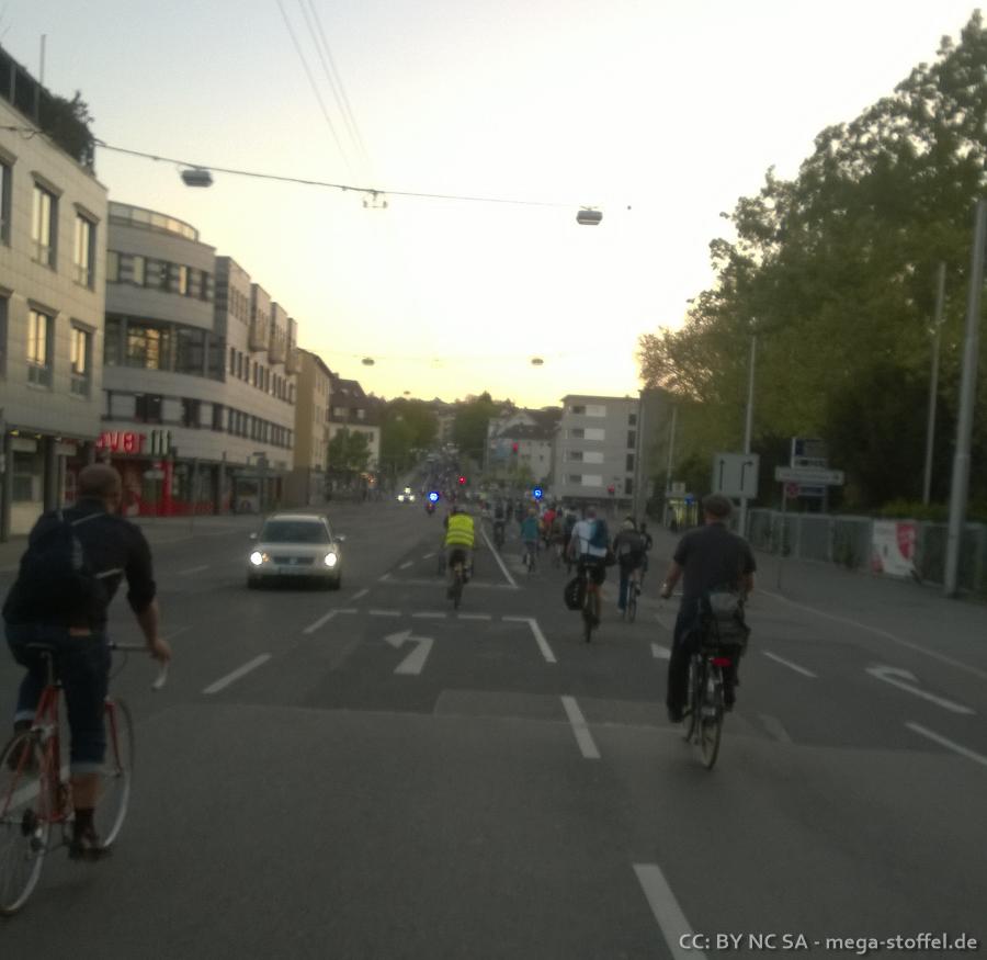 CriticalMass Stuttgart Mai /1