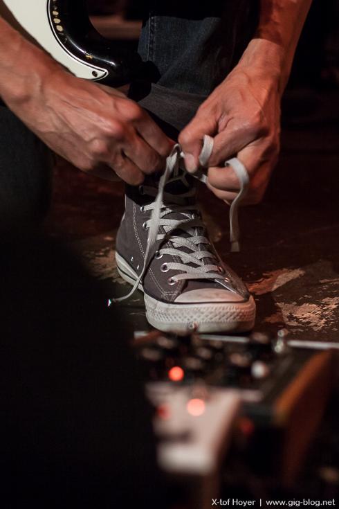 bei Netzer werden die Schuhe gebunden!