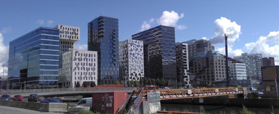 typischer Baustil in Oslo