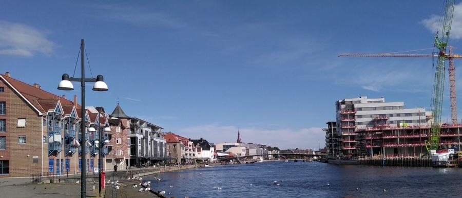 Ankunft in Fredrikstad