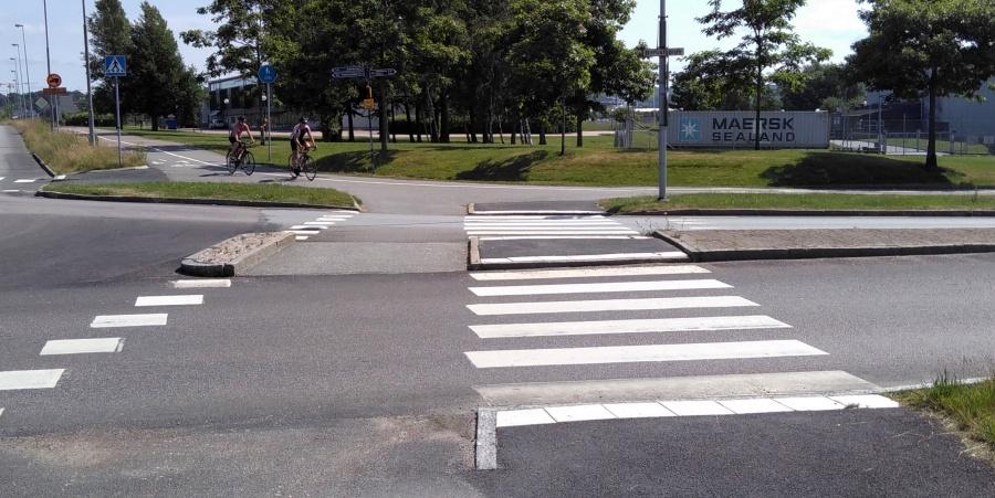 Beispiel für die schwedische Rad-Infrastruktur