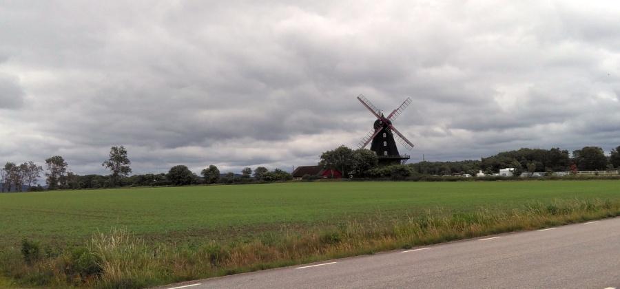 auch in Schweden: Windmühlen