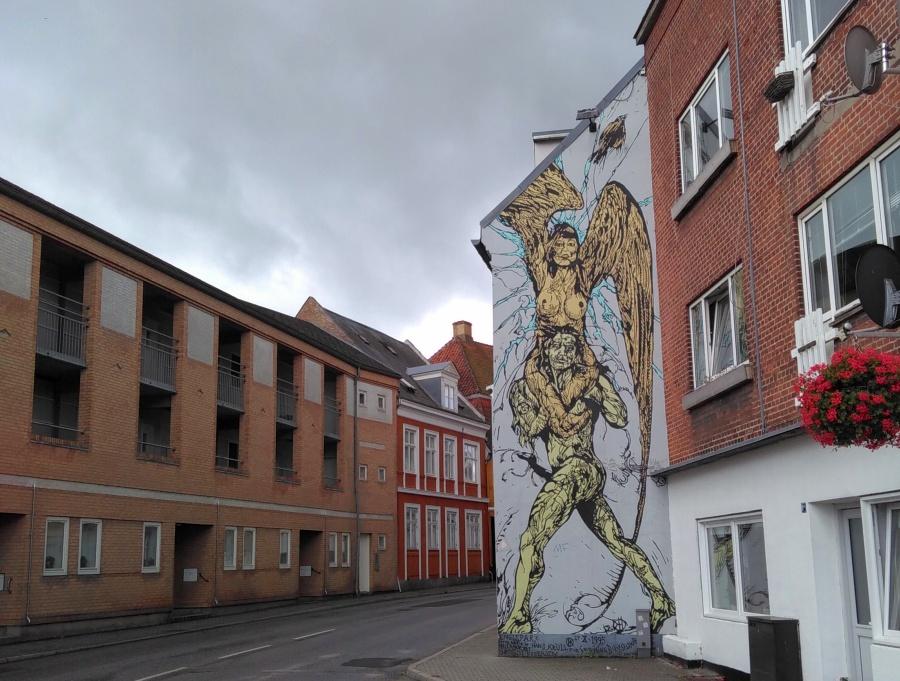 Streetart in Dänemark