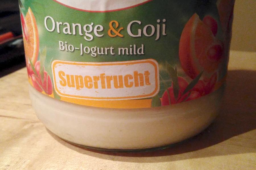 Joghurt mit Superfrucht