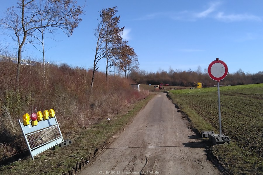 Durchfahrt verboten?