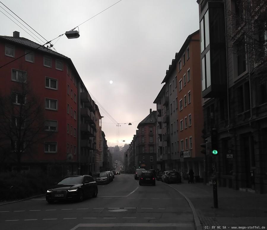 ist es wirklich Smog oder nur Hochnebel? Oder beides?